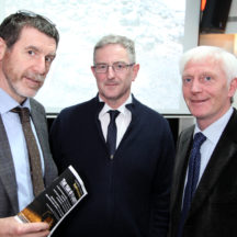 Jerry O'Sullivan, Dr. Paul Naessens, Hugh Gallagher