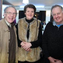 Marcus Thornton, Margaret Hackett, Joe Hynes