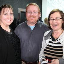 Bridie Naessens, Mark McNally, Damhnait Uí Mhaoldúin