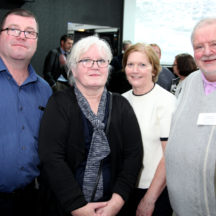 Richard Long, Mary O'Shea, Bernie Coyne, Tomas O'Cadhain