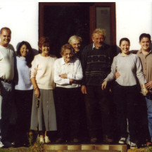 Members of the Donoghue family of Cloonkeen-Abbert.