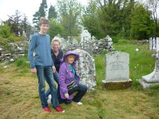At the graveside | Photo: Jimmy Laffey