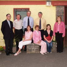 Editorial committee of 'Until Gooseberries Grow On A Tongs' (Ballinruane N.S. commemoration book)