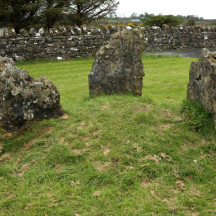 Old burial site at Menlough