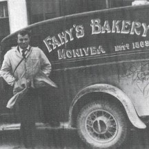 Fahy's Bakery delivery van, Monivea. | Photo Courtesy of Gerry Cooke