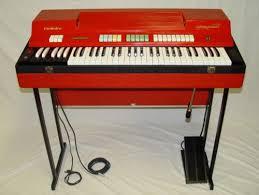 This was the first professional organ that I owned which I obtained second hand in the early 1970's. It was a Farfisa Compact which was the envy of showband players in their day. It was valve technology with a spring reverb. The Reverb was probably the best ever made and lasted forever. I sold this when I bought the YAMAHA TWIN MANUAL YC-25D | © Gerry Costello