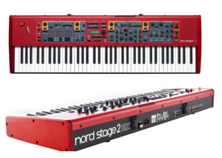 I decided to upgrade to the Nord Stage 2 EX having been given a demonstration by Irvin Duguid who plays in the Albert Hammond Band and Pilot. Its capabilities blew me away and even though it's more than I'll ever need I just had to indulge and make myself a present of one. | © Gerry Costello