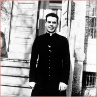 Cardinal Terence Cooke as a Seminarian