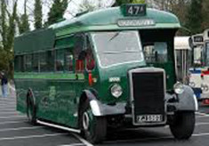 The Old Roscommon Bus