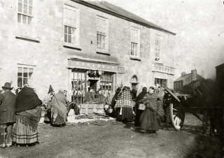A Market Day in Mountbellew   Courtesy of Bank Of Ireland