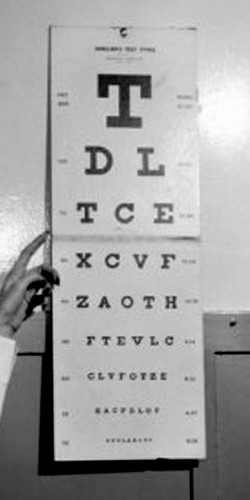 Eye Test Chart | © Copyright Control