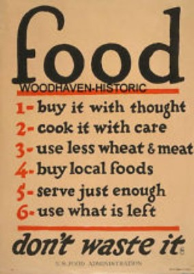 Ration Sign