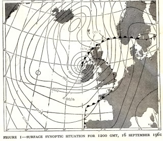 Weather Map - Debbie | © Met Eireann