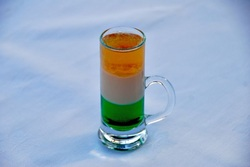 Irish Flag Cocktail