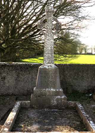 Final resting place and Headstone of Fr. John O'Dea in Kilconly Church Grounds. | © Gerry Costello Photography