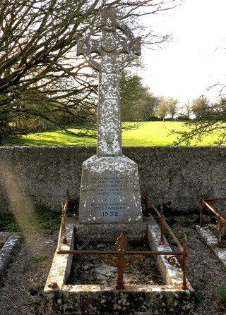 Final resting place and Headstone of Fr Matt Lavelle in Kilconly Church Grounds | © Gerry Costello Photography
