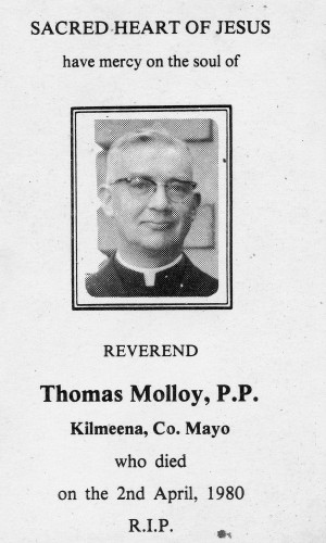 In Memory of Fr. Tom Molloy. | © Copyright Control