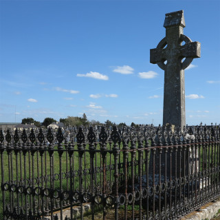 Final resting place and headstone of Fr. Joe Canton at Boyhill Cemetery, Athenry. | © Gerry Costello Photography