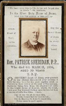 Fr Patrick Sheridan R.I.P. | © Copyright Control