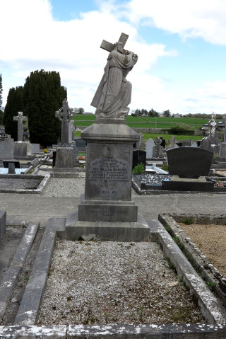 Final resting place and headstone of Fr William Mangan in Roundfort Cemetery, Hollymount, Co. Mayo.   © Gerry Costello Photography