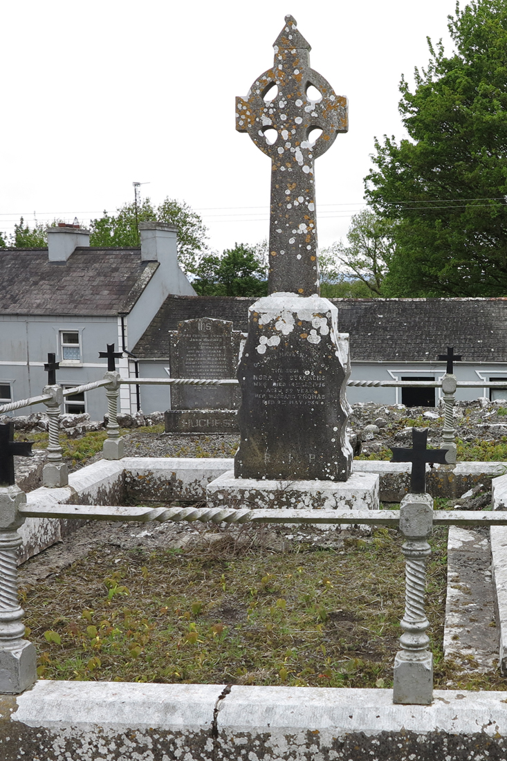 Final resting place of Thomas & Nora Steveens in Mayo-Abbey Old Church Grounds, Co. Mayo. - © Gerry Costello Photography