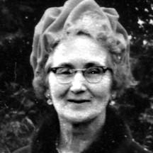 Nancy Snee, Esker. Former teacher at Garbally N.S