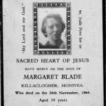 Margaret Blade