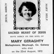 Mary Geraghty