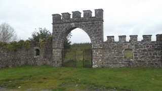 Gate at Grucock's Castle | B Doherty