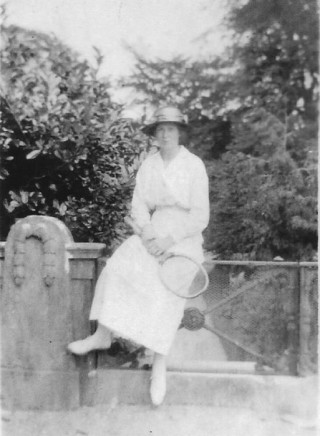 Miss Grace at Woodlawn, c.1930s | Courtesy of Roderick Ashtown