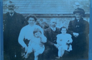 Michael's father & aunt Rita, grandparents and great-grandparents 1914 | Michael Daly