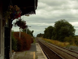 View towards Dublin, from Woodlawn Station | Vincent Mitchell