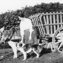 Bringing Home Turf, Mary Burke 1926 | Patricia Greber