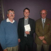 Tom Seale, Rev. John Godfrey, Roderick Ashtown | Gerry Stronge