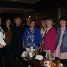 Mrs Sabina Higgins meeting with guests at Wards, Ballyfa | Gerry Stronge