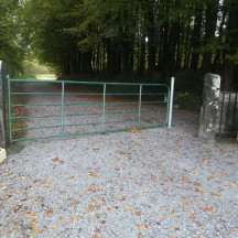 Wheelchair and buggy friendly access at Woodlawn Woods | B. Doherty 2016