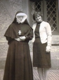Sr. Theresa with Rita   Courtesy of Gabrielle Leslie