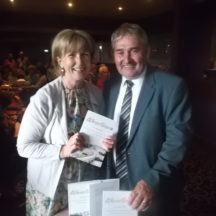 Marian Kenny with Cllr. Mogie Maher | O. Doherty