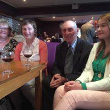 Guests at Wards, Ballyfa | Olivia Anderson