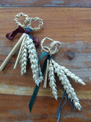 Harvest Knots made at Turlough House 2017 | B. Doherty