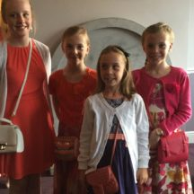 The Deely Girls with a friend at Book Launch | Olivia Anderson