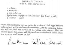 Eggs Au Gratin