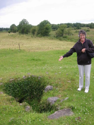 Mary la Barge at Tobergrellan, Ballinasloe | Courtesy of Mary La Barge