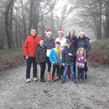 Marian Kenny with family and friends in Woodlawn Woods St. Stephens Day 2017 | Tom Kenny 2017