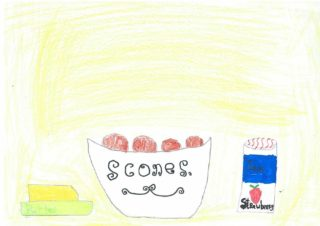 Brown Scones | Drawing by Cian McWalters