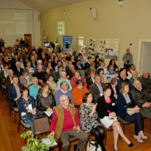 Crowd at website launch | Photo: Gerry Costello