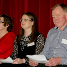 Pauline Connolly in middle  | Photo: Gerry Costello