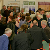 Milltown Heritage mingling among crowd | Photo: Gerry Costello