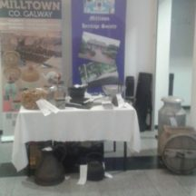 Milltown Heritage Group Display in Galway City Museum.   Photo: Pauline Connolly