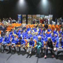 Milltown school kids at launch | Photo: Frank Glynn